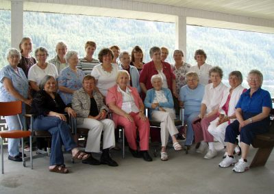 Wind up picnic held at the AYC enjoyed by the members of the Auxiliary