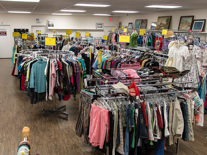 Spring and Summer Clothing at the Hospital Auxiliary Treasure Shop